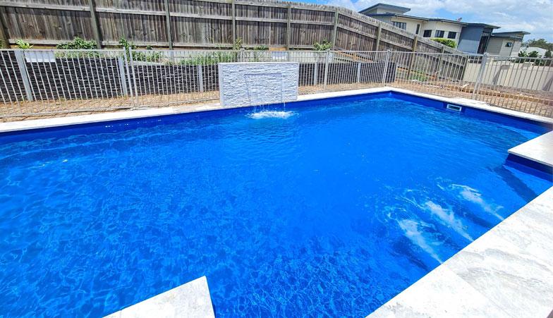 Bermuda Blue Fibreglass Pool Brisbane