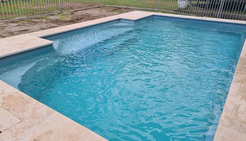 Grey Granite - fibreglass pools brisbane